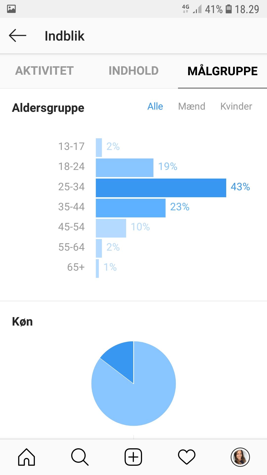 demografi Instragram21 - BloggerSpace